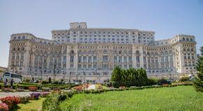 议会宫殿,布加勒斯特,罗马尼亚 库存照片
