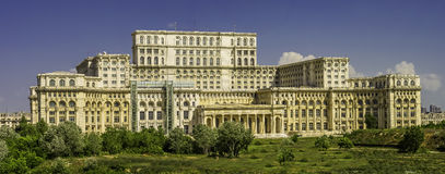 议会宫殿,布加勒斯特 库存图片