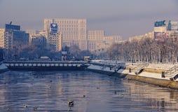 议会宫殿-布加勒斯特 免版税库存图片