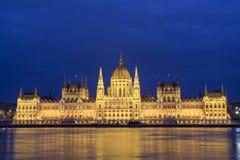 议会布达佩斯 免版税库存照片
