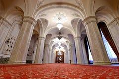 议会罗马尼亚宫殿  库存照片