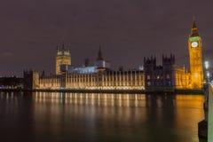 议会议院在伦敦 免版税库存照片