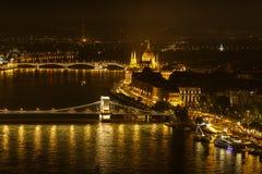 议会,匈牙利 库存图片