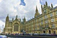 议会,威斯敏斯特宫殿,伦敦,英国,大英国议院  免版税库存图片