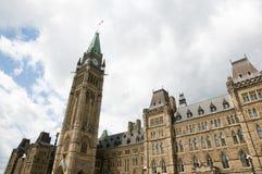 议会-渥太华-加拿大 免版税库存图片