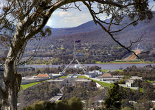 议会从红色小山安置 库存照片
