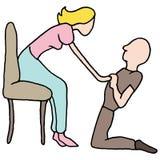 建议的人婚姻 图库摄影