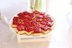议院做的蛋糕 免版税图库摄影