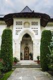 议院入口- Putna修道院 图库摄影