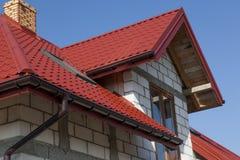 议院和屋顶 免版税库存照片