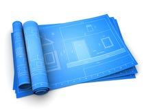 议院图纸 免版税库存图片