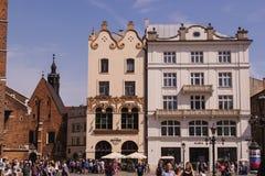 议院在克拉科夫,国家波兰 免版税图库摄影