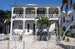 议院在基韦斯特岛,佛罗里达 图库摄影