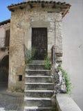 议院在意大利村庄 库存照片