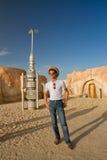 议院在撒哈拉大沙漠 库存图片