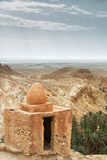 议院在撒哈拉大沙漠 库存照片