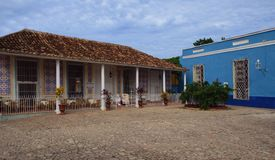 议院在特立尼达 库存照片