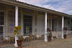议院在特立尼达 免版税库存照片