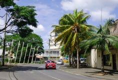 议院在盛大白鹅,毛里求斯 免版税图库摄影