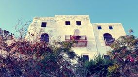 议院在纳克索斯,希腊 免版税库存图片