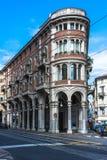 议院在都灵,意大利 免版税库存图片