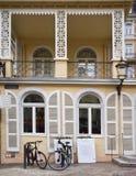 议院在镇baden在黑森林德国里baden 库存照片