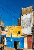 议院在Azemmour镇,摩洛哥 免版税库存照片