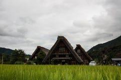议院在Shirakawago 免版税库存照片