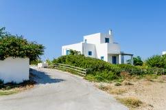 议院在Skiros海岛 库存照片