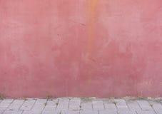 议院墙壁红色色的背景 免版税图库摄影