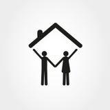 议院家庭图象 免版税库存图片