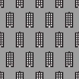 议院无缝的样式背景 免版税图库摄影