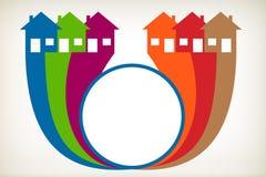 议院标志。 免版税库存图片