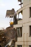 议院爆破在莫斯科 图库摄影