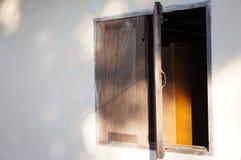 议院窗口设计在Chiangmai 库存照片