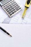 议院计划 免版税库存图片