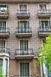 议院门面在巴塞罗那,西班牙 库存照片