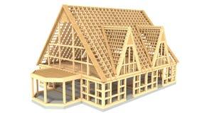 议院建设中 向量例证