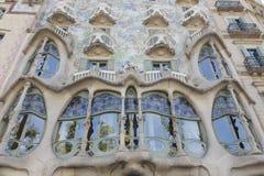 议院Batllà ³,巴塞罗那 免版税库存图片