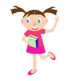 登记女孩 免版税图库摄影