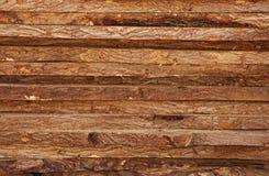 记录原始的纹理木材木头 免版税库存照片