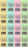 记录器的卡型盒式录音机 免版税图库摄影