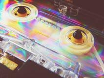记录器的卡型盒式录音机 库存图片