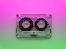 记录器的卡型盒式录音机 免版税库存照片