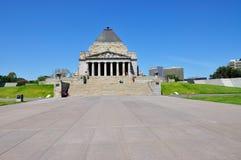 记忆寺庙在墨尔本 库存照片