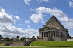 记忆寺庙,墨尔本 库存图片