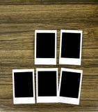 记忆照片框架  免版税库存照片