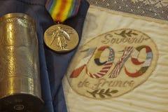 记忆连续性 --第一次世界大战 库存图片