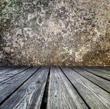 讲台由木板条做成 库存照片