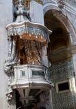 讲坛圣玛丽亚Assunta, I Gesuiti,威尼斯,意大利 免版税库存图片